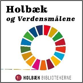 Logo med verdensmålene og Holbæk