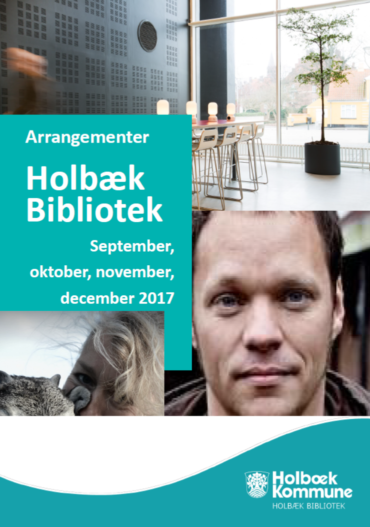 Hent et program for efterårets arrangementer på Holbæk Bibliotek