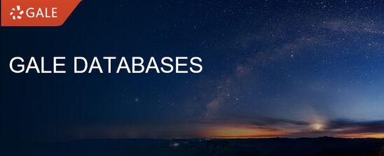 Gale Databaser