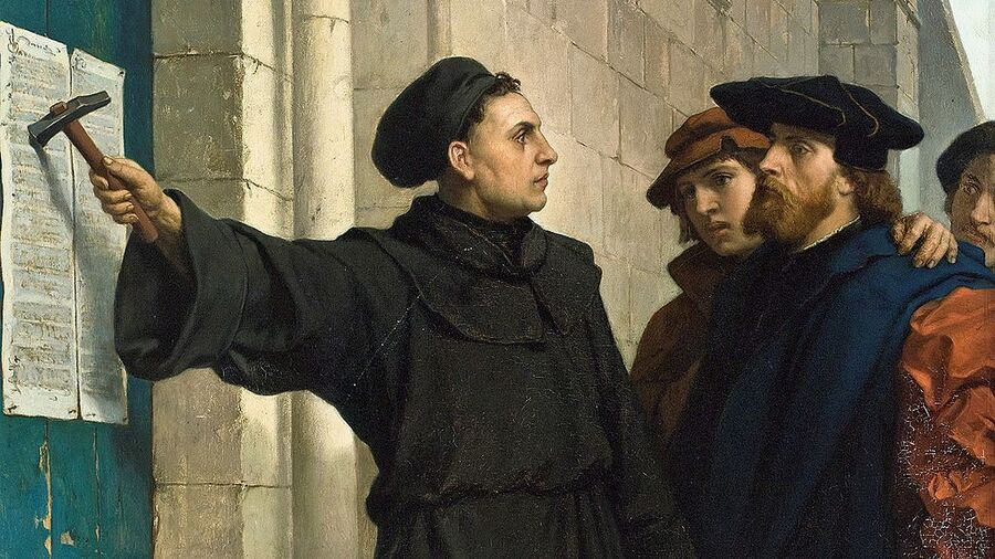 Reformationen: Luthers 95 teser
